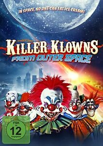 Killer Klowns-from Outer Space [Blu-Ray + DVD LIMITED MediaBook/Nuovo/Scatola Originale]