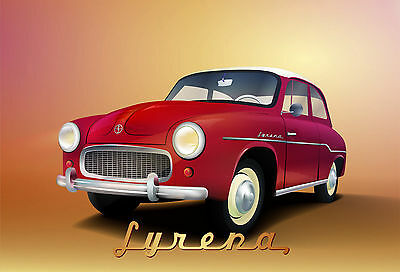 ARDITA FIAT OLD ADVERT METAL TIN SIGN POSTER WALL PLAQUE