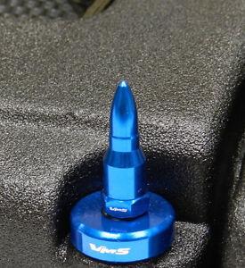 VMS BILLET GUN METAL B16 B18 VALVE COVER WASHER SEAL BULLET SPIKE NUT BOLT KIT
