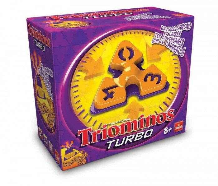Jeu Jeu Jeu de soci    t    triominos turbo - neuf, encore emball    - goliath 931361