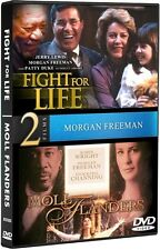 FIGHT FOR LIFE + MOLL FLANDERS New Sealed DVD 2 Films Morgan Freeman