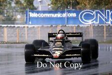 Mario Andretti JPS Lotus 79 Canadian Grand Prix 1978 Photograph 1