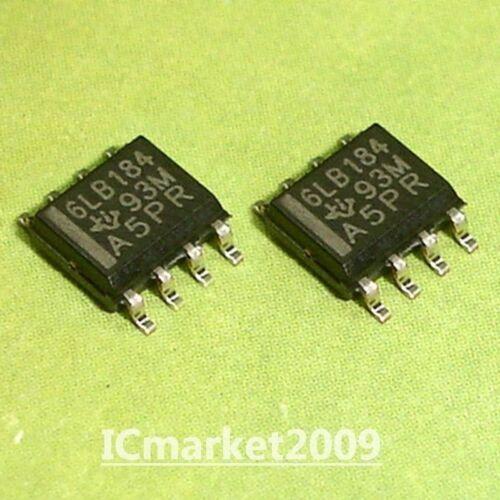 5 PCS SN65LBC184DR SOP-8 6LB184 65LBC184 SN65LBC184 DIFFERENTIAL TRANSCEIVER