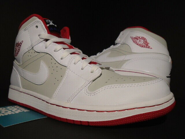 competitive price c357b bc8eb NIKE AIR JORDAN I RETRO 1 MID WB HARE BUGS BUNNY WHITE RED GREY OG  719551-123 10