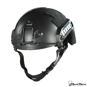 Tactical Airsoft Bump Helmet Military Mich Ach Fast Size L Ballistic Ops Combat