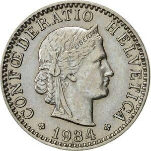 421230-Suisse-20-Rappen-1934-Bern-SUP-Nickel-KM-29