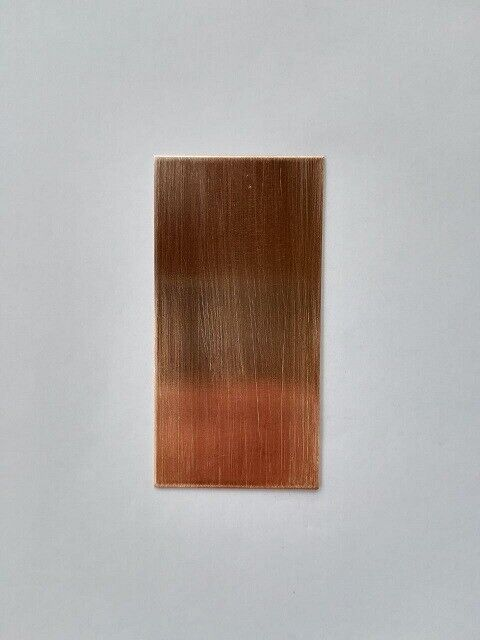 Copper Plate Sheet 99.96/% Pure Anode Electrode 0.8X50X100 mm Galvanic Plating