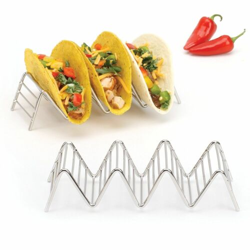 2LB Depot Taco Holder Taco Stand holds 3//4 18//8 Stainless Steel Taco Rack