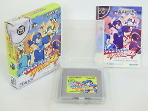 ROCKMAN-WORLD-4-Megaman-Ref-1546-Game-Boy-Nintendo-Japan-gb
