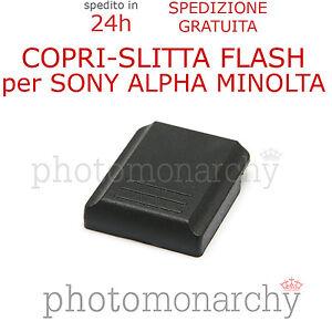 Copri Slitta Flash.Dettagli Su Copri Slitta Flash Protezione Hot Shoe Per Sony Alpha Minolta