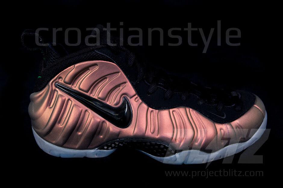 Nike AIR FOAMPOSITE PRO GYM GREEN BLACK Sz 10-11 624041-302