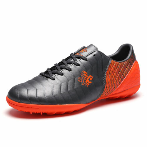 Fashion Men Kid's Soccer Cleats Sports Football Shoes Outdoor Long Spike Cleats