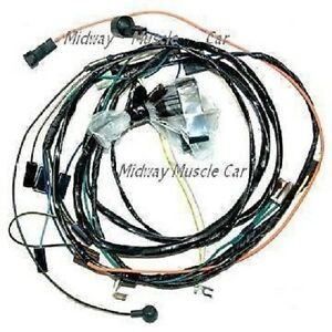 details about 70 chevy chevelle m/t 396 402 454 malibu el camino engine  wiring harness
