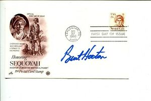 Burt Hooton Los Angeles Dodgers 1981 World Series NLCS MVP Signed Autograph FDC
