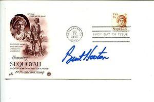 Burt Hooton Los Angeles Dodgers 1981 World Series NLCS MVP Signed Autograph FDC