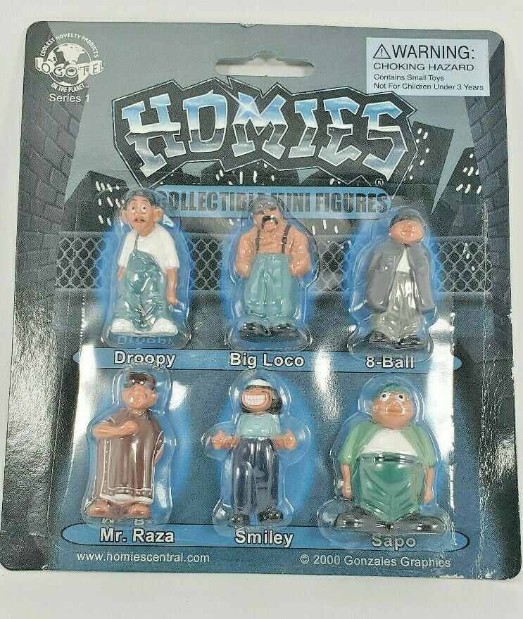Homies complete set of 12 dog figures Hood Hounds 1 different packages