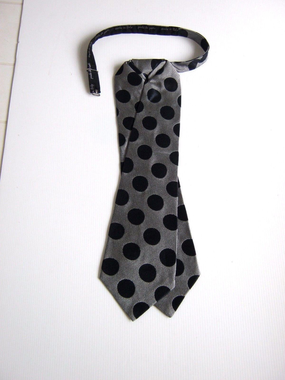 PAOLO DA PONTE New Plastron Tie Ceremony Silk