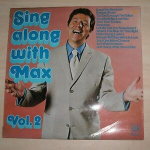 MAX BYGRAVES  Sing Along With Max Vol 2 Vinyl Album - <span itemprop=availableAtOrFrom>Melton Mowbray, United Kingdom</span> - MAX BYGRAVES  Sing Along With Max Vol 2 Vinyl Album - Melton Mowbray, United Kingdom