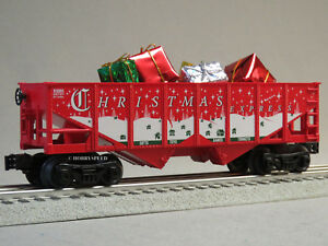 Lionel Christmas Train.Details About Lionel Christmas Express Hopper Presents O Gauge Train Holiday 6 82982 H New