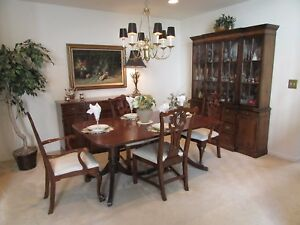 Details about genuine mahogany dining room set. purchased in 1945 one owner  great condition.