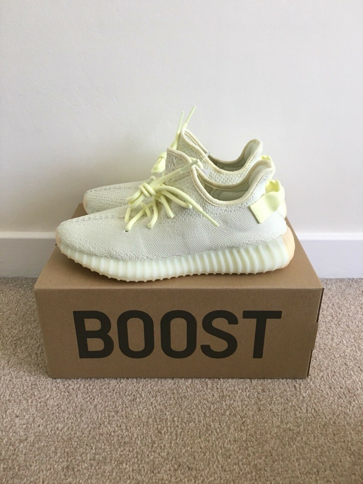 Adidas Yeezy Boost 350 V2 Butter US 13.5 F36980