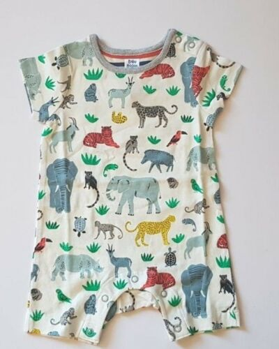 BUTTERFLY-ANIMALS-ELEPHANT BNWOT MINI BODEN BABY ROMPER SUITS VARIOUS DESIGNS