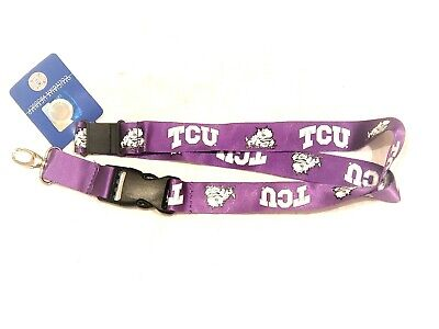 TCU Horned Frogs Camo Lanyard with Detachable Buckle