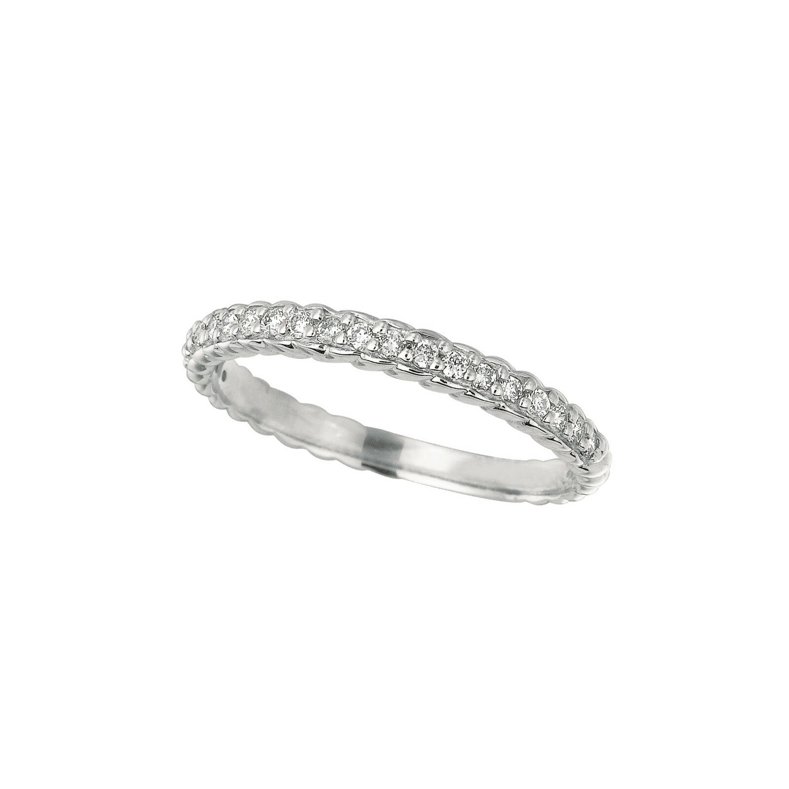 0.2 CT Diamond ring Set In 14K White gold IDJR6817WD