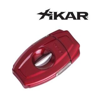 NEW-Xikar-VX2-Red-V-Cut-Cigar-Cutter