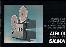 SILMA ALFA 01 DUAL SYSTEM-istruzioni d'uso b1827