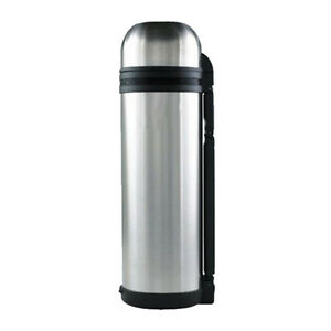 hot and cold stainless steel vacuum thermos flask bottle 2 sizes 1 5 1 8 liter ebay. Black Bedroom Furniture Sets. Home Design Ideas