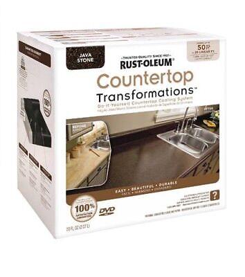 Rust Oleum Java Stone Countertop Transformations Kit 258283 Easy