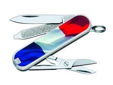 VICTORINOX CLASSIC FLAG BLANC DRAPEAU FRANCAIS COUTEAU SUISSE 7 OUTILS 0.6223.FR