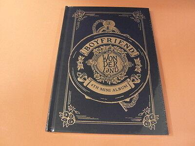 BOYFRIEND - Boyfriend In Wonderland (4th Mini Album) CD w/ Photo Card $2.99Ship