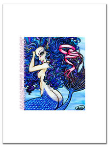 Muriel Giclee Print Sexy Mermaid Fantasy Fairy Ocean Siren Nymph PinUp Art NOTTY