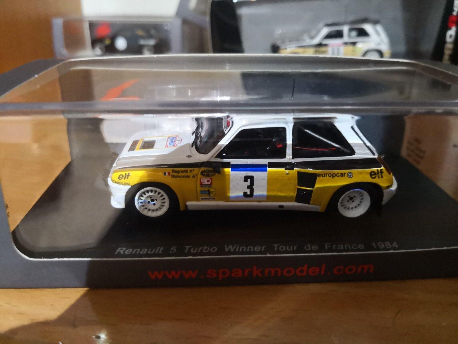 Renault 5  turbo tour de corse Spark  1 43