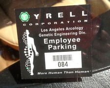 Blade Runner Tyrell Corporation Employee Parking Car Decal Sticker - INDIV #
