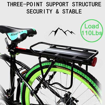 Rear Back Bag Rack Alloy Bike Bicycle Seat Post Frame Carrier Holder