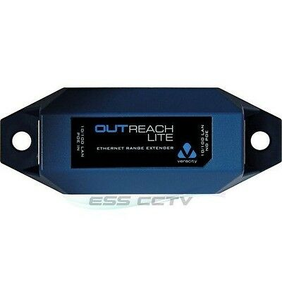 PoE distance VERACITY OUTREACH MAX XT outdoor Network PoE Extender extend cat5