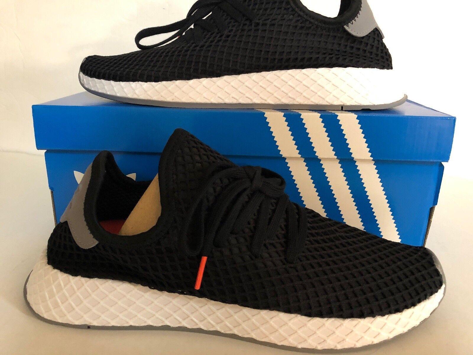 42acc7d9e Adidas Originals Deerupt Runner Black White Mens Mens Mens Lifestyle  Sneaker B41765 SZ 9.5 c3226f