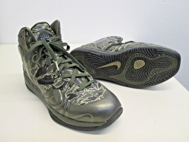 best website d4559 d65c8 Nike Hyperposite Air Max Tiger Stripe Camo Cargo Khaki Bamboo Black size 11