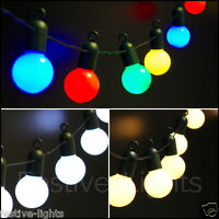 4.75M INDOOR OUTDOOR CHRISTMAS PARTY FAIRY STRING FESTOON GLOBE LIGHTS, 20 LEDS