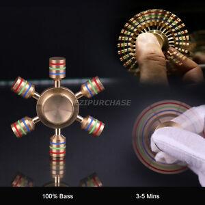 Brass-Hand-Fidget-Spinner-Finger-Tri-Spinner-Fidget-Focus-EDC-Toy-Kid-Adult
