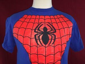 Marvel-Spider-Man-Mad-Engine-T-Shirt-Men-039-s-Large