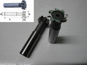 2Pcs Dia.16mm x3mm Slot HSSAl T-slot Endmills CNC Milling Tools High Speed Steel