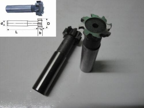 2Pcs Dia.16mm x5mm Slot HSS T-slot End Milling Cutter CNC Milling Tool Endmills