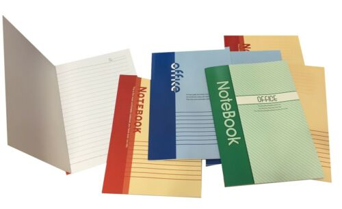 Set 12 quaderni Notebook appunti ufficio Office Block Notes 21 pagine 20x14cm