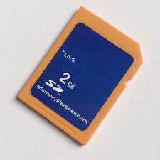 2GB SD MemoryPartner Secure Digital Memory Card Standard Genuine f carmera GPS