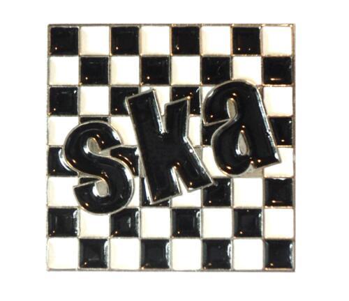 Madness SKA 2 Tone Rude Girl Band Metal Enamel Badge Set Scooterists MODS