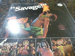 SAVAGE-TIHATI-039-S-south-seas-spectacular-LP-hawaii-exotica-Don-the-Beachcomber